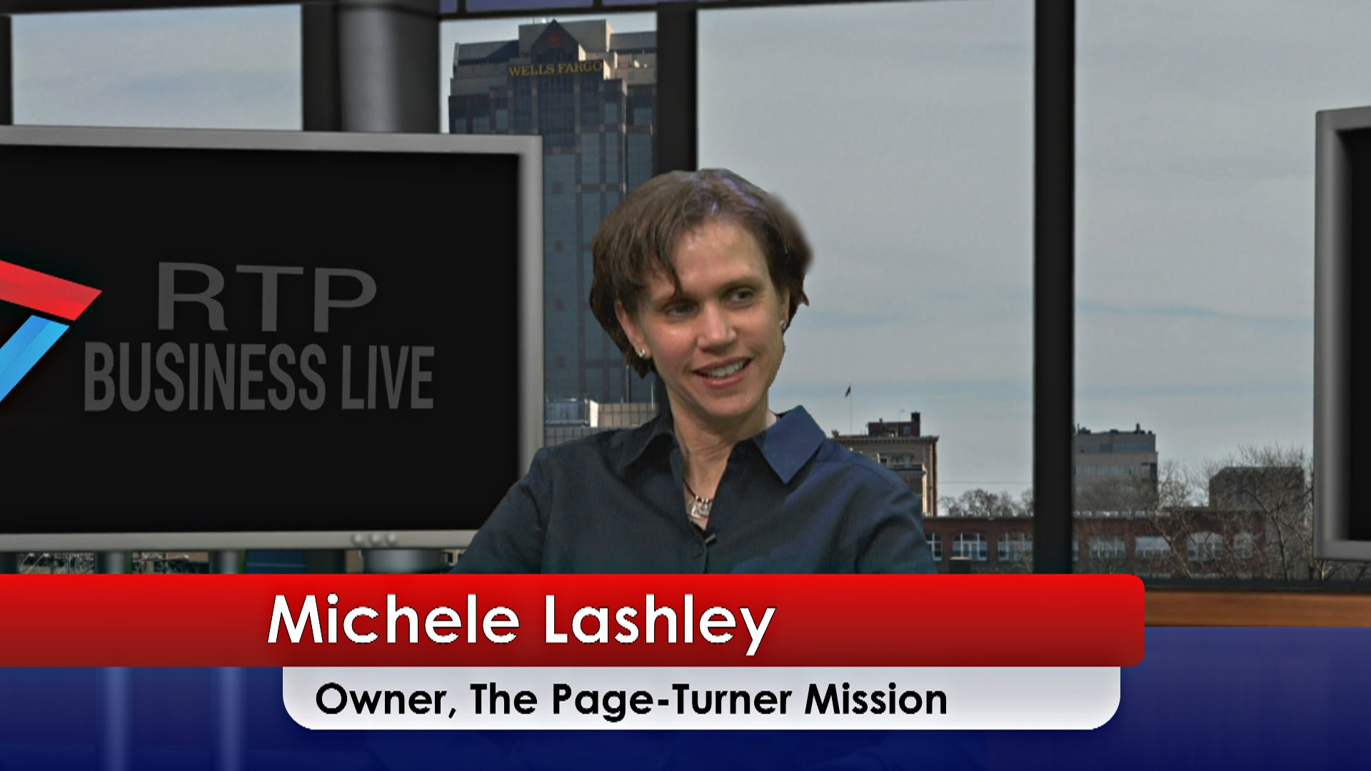 The Page-Turner Mission – Michele Lashley
