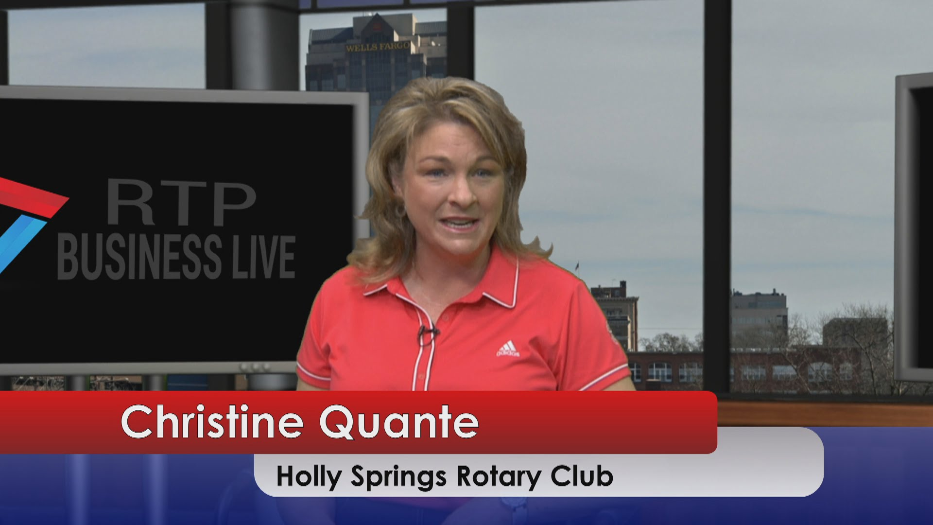 Holly Springs Rotary Golf Tournament – Christine Quante