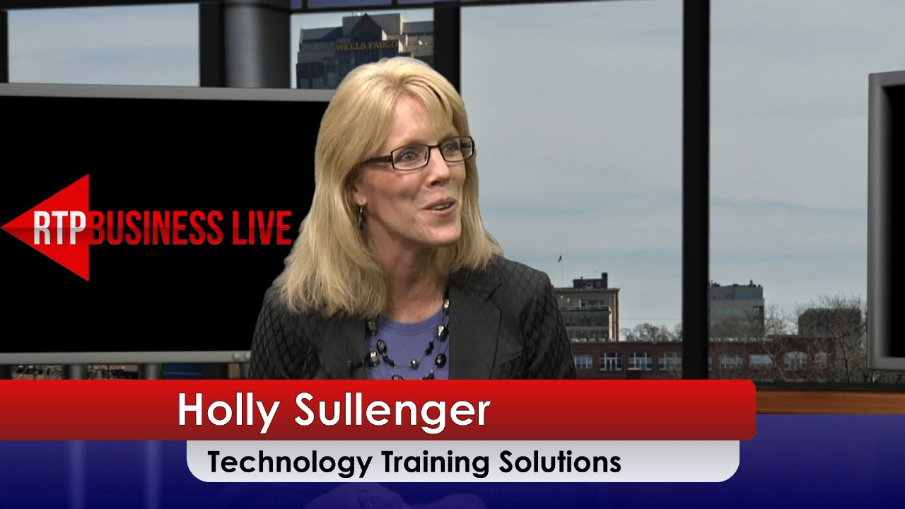 NC State University's Technology Training Solutions – Holly Sullenger